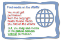 find media on the WWW